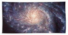 M101 Pinwheel Galaxy Hand Towel