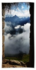 Machu Picchu Peru 4 Bath Towel by Xueling Zou