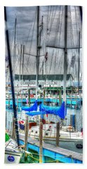 Mackinac Island Harbor Hand Towel