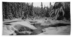 Madawaska River Hand Towel by David Porteus