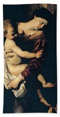 Madonna Di Loreto Hand Towel
