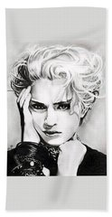 Madonna Hand Towel by Fred Larucci
