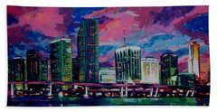 Magic City Hand Towel