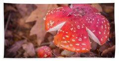 Magic Mushroom Bath Towel by Ray Warren