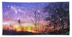 Magic Of Maine Hand Towel by Mike Breau