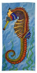 Magical Seahorse Hand Towel
