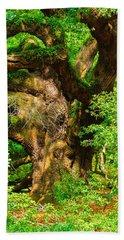 Magnificent Angel Oak Hand Towel
