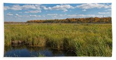 Magnificent Minnesota Marshland Bath Towel