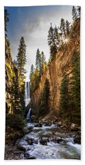 Magnificent  Mystic Falls  Hand Towel by Steven Reed