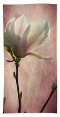 Magnolia Hand Towel by Ann Lauwers