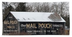 Mail Pouch Tobacco Barn Hand Towel