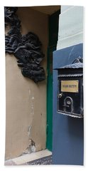 Mailbox At Bulgakov House Museum Hand Towel by Panoramic Images