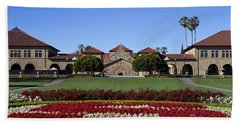 Main Quad Stanford California Hand Towel by Jason O Watson