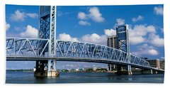 Main Street Bridge, Jacksonville Bath Towel