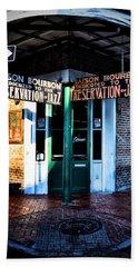 Maison Bourbon Dedicated To The Preservation Of Jazz Bath Towel