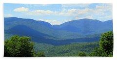 Majestic Mountains Hand Towel by Elizabeth Dow