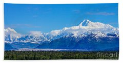 Majestic Mt Mckinley Bath Towel