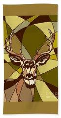 Majestic Mule Deer Buck Hand Towel