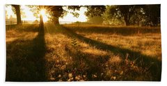 Majestic Oaks Sunrise Bath Towel