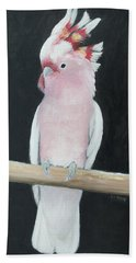 Major Mitchell Cockatoo Hand Towel by Jan Matson