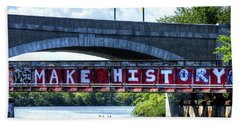 Make History Boston Hand Towel