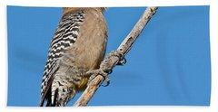 Male Gila Woodpecker Bath Towel by Jeff Goulden
