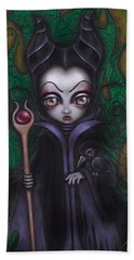 Maleficent  Bath Towel