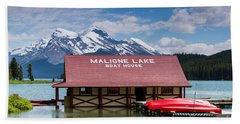 Maligne Lake Hand Towel