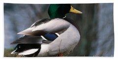 Mallard Duck Hand Towel
