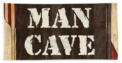 Man Cave Do Not Disturb Hand Towel