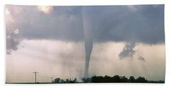 Manchester Tornado 3 Of 6 Hand Towel by Jason Politte