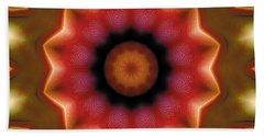 Bath Towel featuring the digital art Mandala 103 by Terry Reynoldson