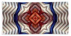 Bath Towel featuring the digital art Mandala 11 by Terry Reynoldson