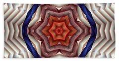 Bath Towel featuring the digital art Mandala 12 by Terry Reynoldson