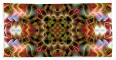 Mandala 120 Hand Towel by Terry Reynoldson