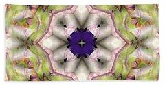 Bath Towel featuring the digital art Mandala 127 by Terry Reynoldson