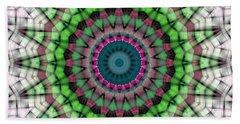 Bath Towel featuring the digital art Mandala 26 by Terry Reynoldson