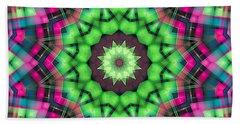 Bath Towel featuring the digital art Mandala 29 by Terry Reynoldson
