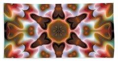 Bath Towel featuring the digital art Mandala 68 by Terry Reynoldson
