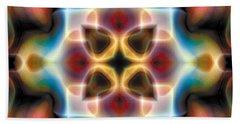 Bath Towel featuring the digital art Mandala 77 by Terry Reynoldson
