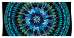 Mandala Of Peace Bath Towel