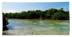 Bath Towel featuring the photograph Mangrove @ Safehaven Sound by Amar Sheow
