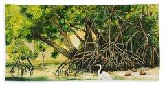 Mangrove Morning Hand Towel