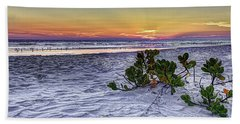 Mangrove On The Beach Bath Towel by Marvin Spates