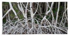 Mangrove Roots Bath Towel