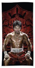 Manny Pacquiao Artwork 1 Hand Towel