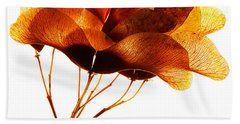 Maple Seed Pod Cluster Bath Towel