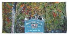 Marathon Park Hand Towel