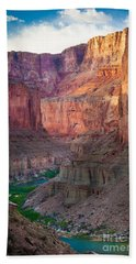 Marble Cliffs Hand Towel by Inge Johnsson