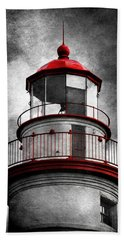 Marblehead Lighthouse - Alternate Reality Bath Towel
